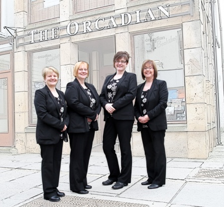 The Orcadian Bookshop Team