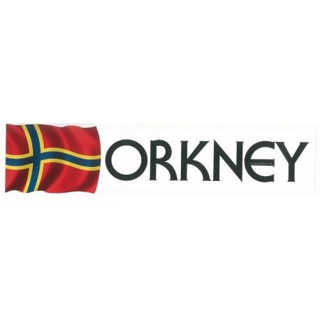 Window Sticker - Orkney Flag
