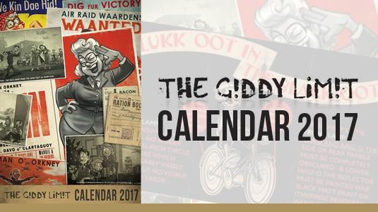 2017 Giddy Limit Calendar