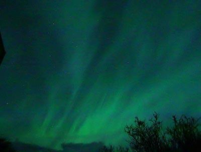 Aurora Borealis on Aurora Borealis In Orkney  Picture Copyright J Vetterlein