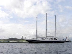 First Tall Ship Arrives in Orkney
