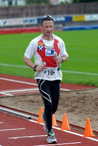 Orkney ultra-marathon runner William Sichel.