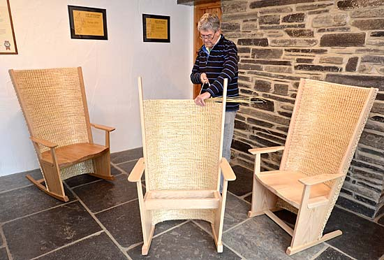 ... Of Scapa Crafts, With The Three New Simon Pengelly Designed Chairs.