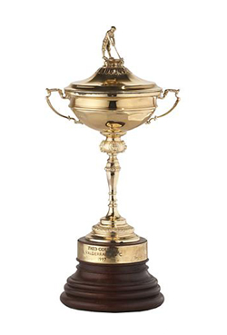 The world-famous Ryder Cup will be present in Orkney this weekend.