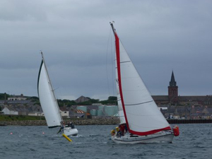 A scene from last year's Kirkwall Regatta.