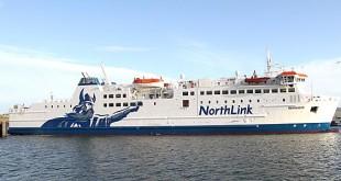 NorthLink's mv Hamnavoe.