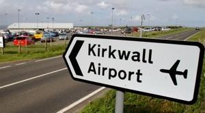 Kirkwall Airport, Orkney.15/7/14Tom O'Brien