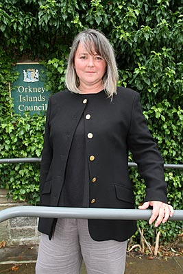 The new OIC councillor for the West Mainland, Rachael King.