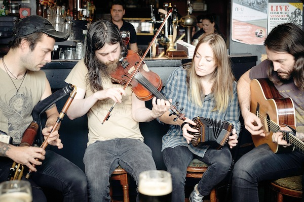 Traditional Irish song quartet, Lynched are one of the acts announced today.
