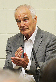 Sir Peter Maxwell Davies during the 'Max at 80' event in the 2014 St Magnus International Festival. (www.theorcadianphotos.co.uk)