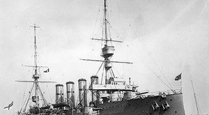 HMS Hampshire, which sank off Birsay in June 1916, with the loss of 737 crewmen.