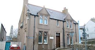 The former library building in Stromness.