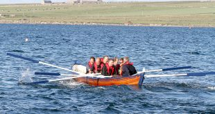 Members of the Orkney Rowing Club will set out on their around-Mainland fundraising row this afternoon.