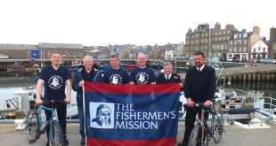 Fundraising for the Fishermen's Mission continues this weekend.
