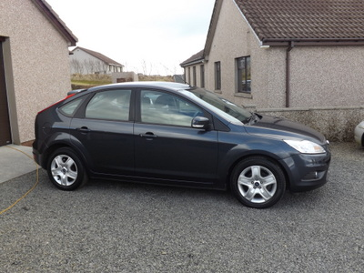 2009 ford focus style 125 5 door - Ford Focus 2009 Black