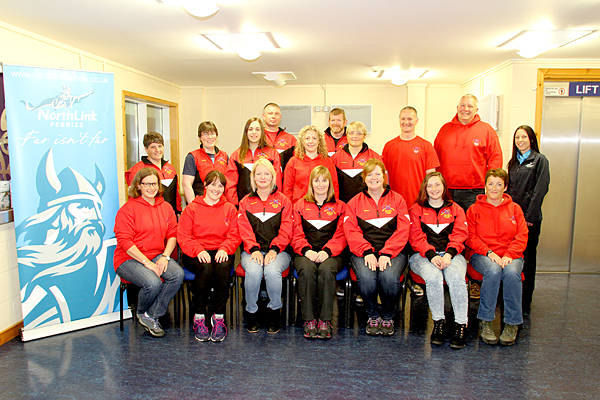 The Orkney Rowing Club members who competed in Shetland last year. (Photo: www.theorcadianphotos.co.uk)