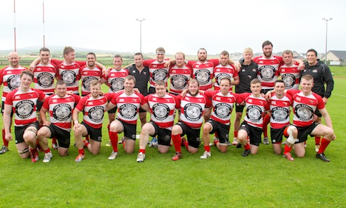 Orkney RFC versus the Penguins select team at Pickaquoy.  Orkney won the match 38-15.  20/8/16  Tom O'Brien