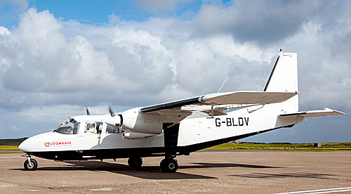 Orkney school pupils have the opportunity to have their artwork featured on Britten-Norman Islander aircraft.