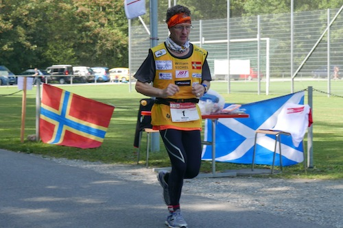 William Sichel competing in the Brugg 24 hour race last month.