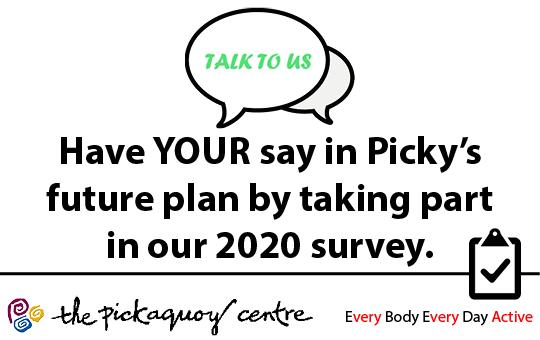 Picky Centre 2020 Survey