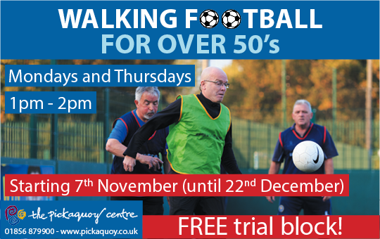 Picky Walking Football Advert