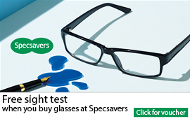 Specsavers free sight test offer