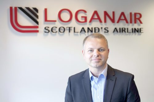 "Loganair's summer schedule is ""a statement of intent"" according to managing director Jonathan Hinkles."