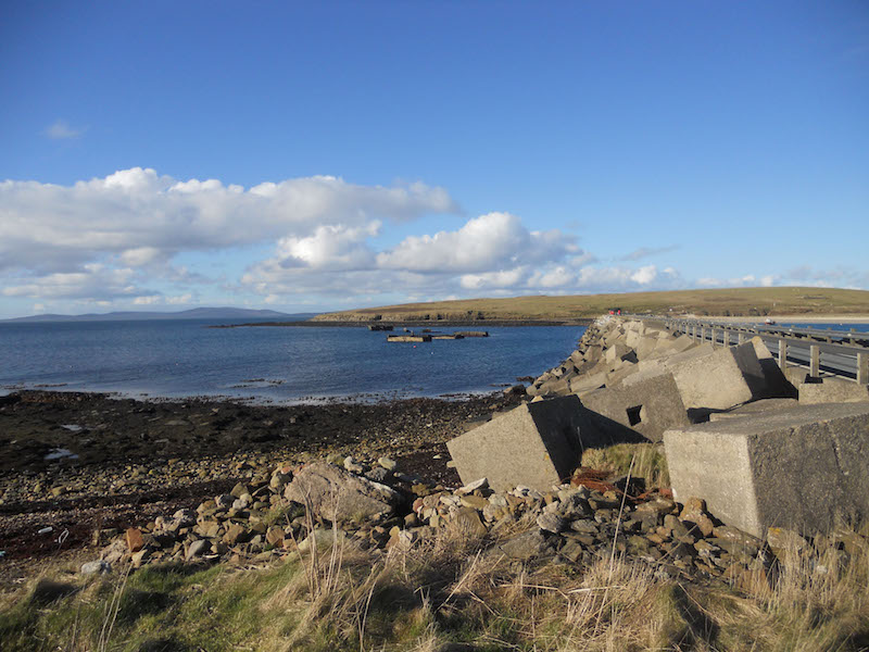 Two of the four Churchill Barriers have been listed by HES. (Picture: Orkney Research Centre for Archaeology)[/caption]