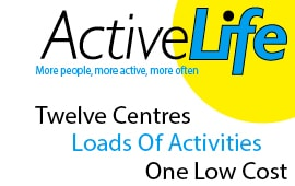 The Pickaquoy Centre Active Life Web Banner