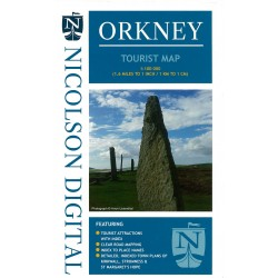 Orkney Tourist Map