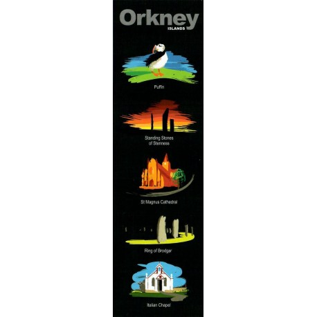 Orkney Sights Bookmark