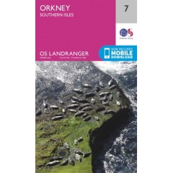 Orkney - Southern Isles - 7 - OS Landranger Map