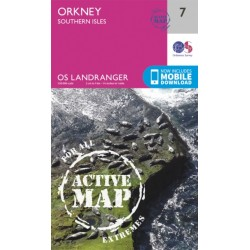 Orkney - Southern Isles - 7 - OS Landranger ACTIVE Map