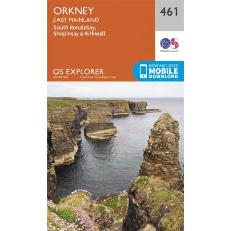 Orkney - East Mainland - 461 - OS Explorer Map
