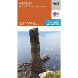 Orkney - Hoy, South Walls and Flotta - 462 OS Explorer Map