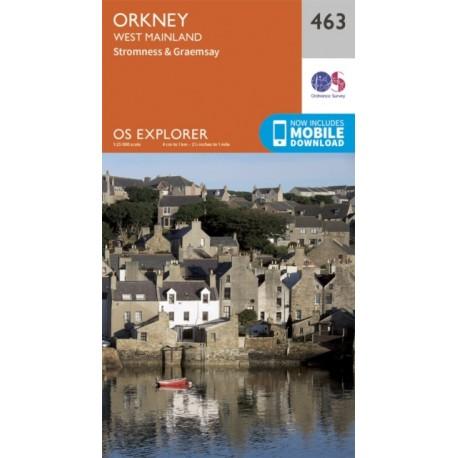 Orkney - West Mainland - 463 - OS Explorer Map