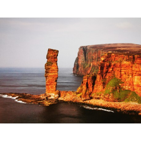 Orkney Card - Old Man of Hoy
