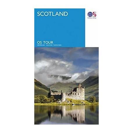 Scotland - OS Tour Map