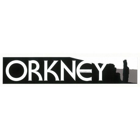 Window Sticker - Orkney Old Man of Hoy