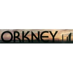 Window Sticker - Orkney Sunset