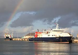 Ferry services disrupted due to weather forecast
