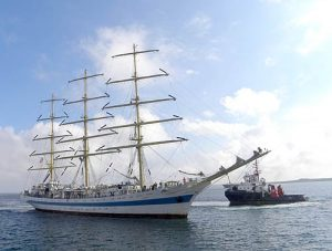 Largest visiting Tall Ship arrives at Hatston