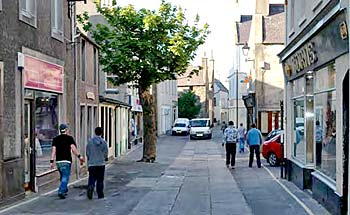 Kirkwall misses out on high street award