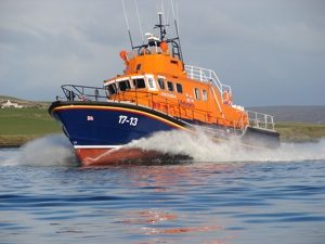 Kirkwall Lifeboat called to yacht