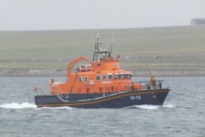 Yacht safely escorted to Westray by Kirkwall Lifeboat