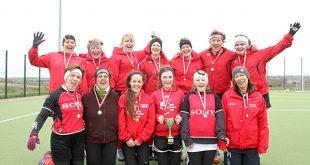 The winners of the 30th Kirkwall Ladies' Challenge Cup, Kirkwall Ladies.