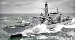 HMS Kent is due to arrive in the county on Sunday afternoon.