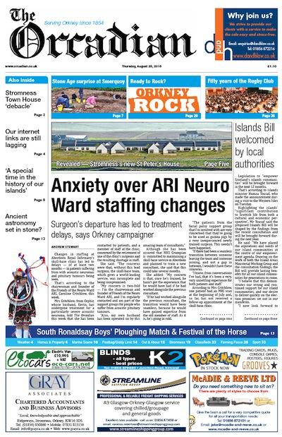 Front page august 26