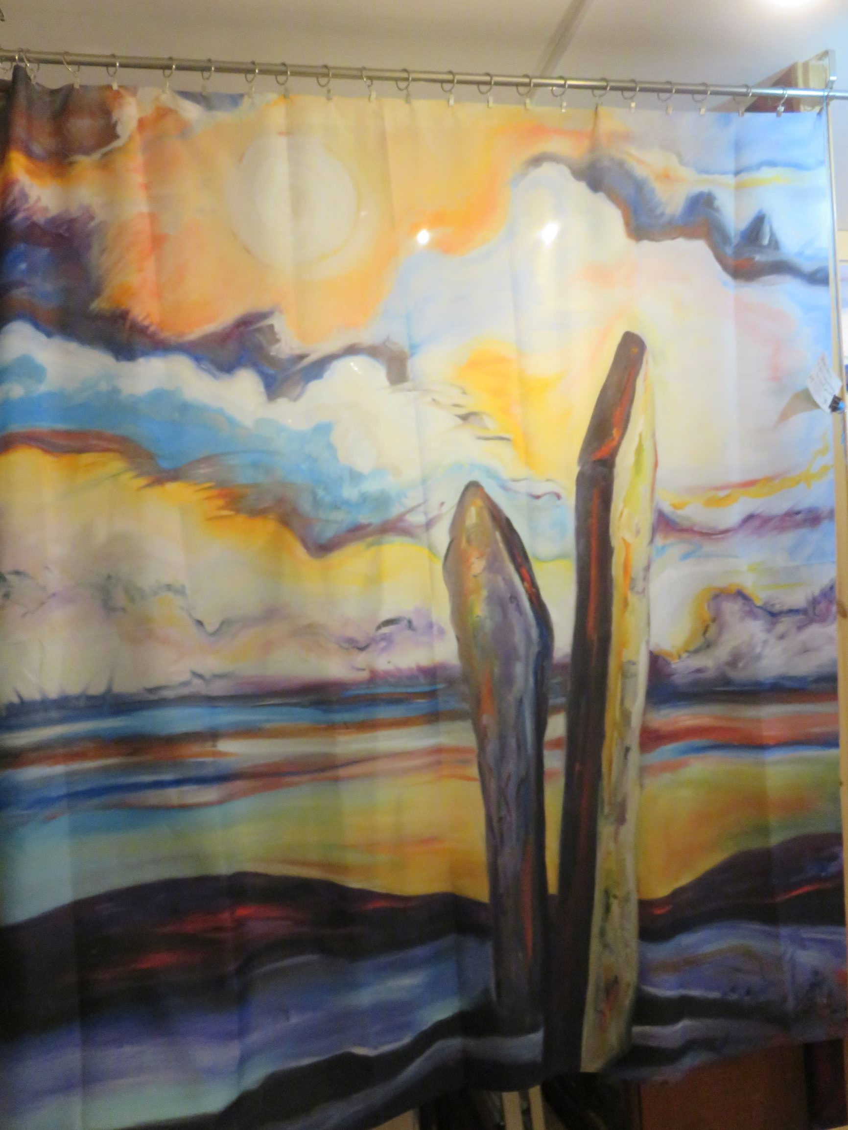 WIN an Artworks of the earth shower curtain!