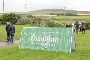 The Orcadian Parish Cup draw